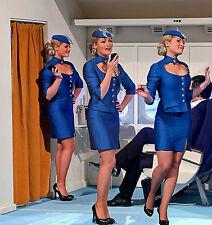 Solde 3 X Paquet Hôtesse de L'Air Équipage Cabine Qualité Brillante Shine