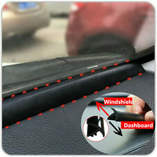 1M Car Windshield Dashboard Sealing Strip Noise Soundproof Anti-dust Seal Trim