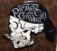 Disney 2017 Pirates of the Caribbean Dead Men Tell No Tales Skull Profile Pin