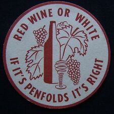 Red Wine Or White If It's Penfolds It's Right Coaster (B304)