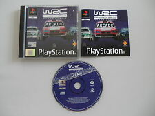 WRC FIA World Rally Championship Arcade (PAL) PSX PS1 Playstation Complete CIB