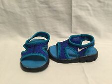 Nike Sunray 9 Infant Boys Binary Blue/still Blue Sandals/water Shoes~size 2 C