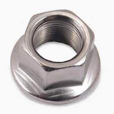 Wheels Manufacturing BMX Axle Nut For 14mm X 1 Steel Bag of 2)