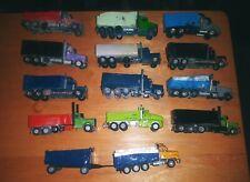1/87 scale trucks lot construction dump trucks custom made.
