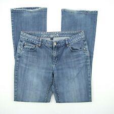 JAG Bondi Bootcut Blue Faded Distressed Denim Jeans Women's Size 12 W32 #JW71405