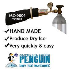 Penguin dry ice Maker - U.S.A Standard thread valve CGA320
