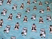 Jersey Katzen Cats helltürkis schwarz Meterware Kinderstoff Baumwolljersey Julie