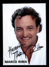 Marco Rima Autogrammkarte Original Signiert # BC 83483