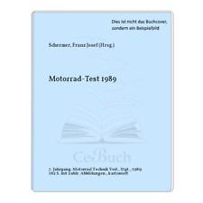 Schermer, Franz Josef (Hrsg.): Motorrad-Test 1989