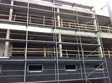 Gerüst Typ Layher 17 qm mit Alu-Durchstieg Fassadengerüst Stahlböden 2,57 m NEU