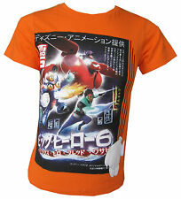 Disney Big Hero 6 T-Shirt Official Top 100% Cotton Ages 3Y, 4Y, 6Y and 8 Years