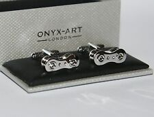 Mens Cufflinks - Bike Bicycle Chain Link Design *New* Gift
