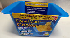 RAPID MAC COOKER -WORLDS FASTEST AND EASIEST WAY TO COOK MAC AND CHEESE