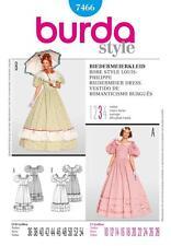 burda cartamodello Donna biedermeierkleid Abito Sizes 10 - 28 7466