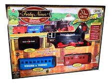 Forty Niner Special Train Set 29 pc EZTEC Silver Locomotive Denver & Rio Grande