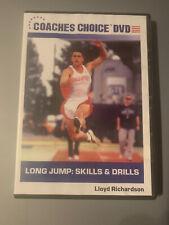 Long Jump: Skills & Drills - Lloyd Richardson Track & Field Coaching Dvd
