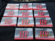 Sony Cassette tapes 60 minutes HF  High Fidelity  nib