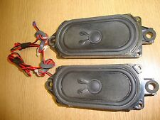 """HITACHI 32"""" LCD TV L32H01UA INTERNAL SPEAKERS COMPLETE PAIR TESTED/WORKING WA13"""