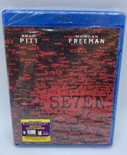Se7en Seven Brad Pitt Morgan Freeman (Blu-ray Disc, 2011) 00004000