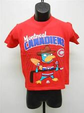 NEW Montreal Canadiens #00 PHINEAS & FERB AGENT P Youth S Small Size 8 Shirt