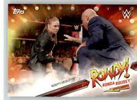 2019 WWE Road to Wrestlemania Spotlight #6 Ronda Rousey