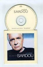 CD SAMPLER PROMO SINGLE MICHEL SARDOU DU PLAISIR