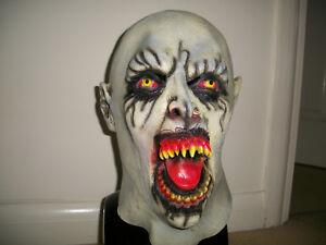 Horror Halloween evil demon monster xcoser latex mask