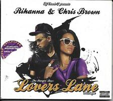 CD RIHANNA & BROWN CHRIS THE SLANGIN' BOYZ LOVERS LANE MIXTAPELOVERS LANE 2011