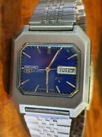 Seiko - DX Saxe Blue 6106-5480 Automatic w/ Steel Band Men - 1970-1979