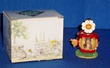 Fitz Floyd Teeny Tiny Tale Get Your Candy Apple Here Figurine Home Decor