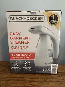 NIB Black+ Decker Easy Garment Steamer HGS011F *Free Shipping*