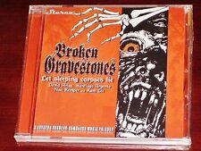 Broken Gravestone: Let Sleeping Corpses Lie CD 2011 Comatose Music / Sevared NEW