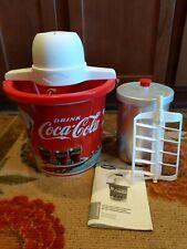 Coca-Cola Nostalgia 4-quart Ice Cream Maker