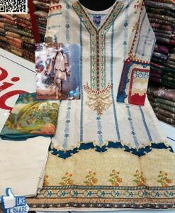 Lawn Asian Ready Made Pakistani Indian salwar,shalwar kameez suits S/M/L /XL