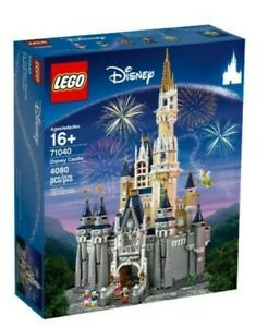 LEGO Disney World 71040 Cinderella's Castle (4080 Pieces/ 5 Characters) SEALED