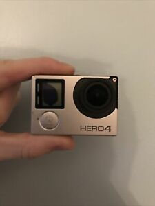 Gopro Hero 4 Status Screen Faulty Scratched Unit Only No Battery See Pictures