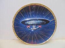 "STAR TREK/Hamilton Collection USS Enterprise NCC-1701-D 8"" Collector Plate w/COA"