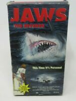 JAWS - THE REVENGE VHS VIDEO MOVIE, MICHAEL CAINE, KAREN YOUNG, LANCE G. 1998
