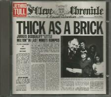 Thick as a brick (early BMG Chrysalis) Jethro Tull - CD