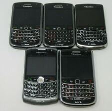 LOT OF 5 RIM BLACKBERRY PHONES, 8330, 8700, 9630, 9650, VAR. NTWK, PARTS/REPAIR