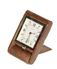"1930S JAEGER-LECOULTRE 8 DAYS TRAVEL ALARM CLOCK ""ADOS"""
