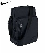 NIKE mini shoulder messenger small bag BLACK/BLACK 100% genuine!!.