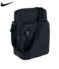 NIKE mini shoulder messenger small bag BLACK/BLACK 100% genuine!!.