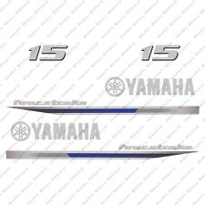 Yamaha 15HP Four Stroke Outboard Engine Decals Sticker Set reproduction 2013 15