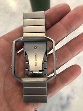 Fitbit Blaze Genuine Stainless Steel Wrist Strap Band Metal Frame Us seller