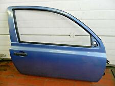 Nissan Micra K12 3-trg. Türe rechts, T12 cornflower blue, Beifahrertüre