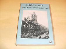 SUNDERLAND REMEMBERED. DVD. ROKER .SEABURN. NORTH-EAST. WEARSIDE. TYNE & WEAR...