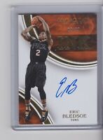 2015-16 PANINI IMMACULATE INK ERIC BLEDSOE ON CARD AUTO #2/99 Milwaukee Bucks
