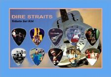 DIRE STRAITS - A5 SIZE LIMITED EDITION - GUITAR PICK DISPLAY