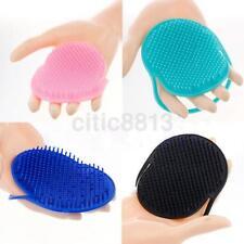 Cool Mini Shampoo Scalp Shower Body Washing Hair Massage Brush Massager Comb AU